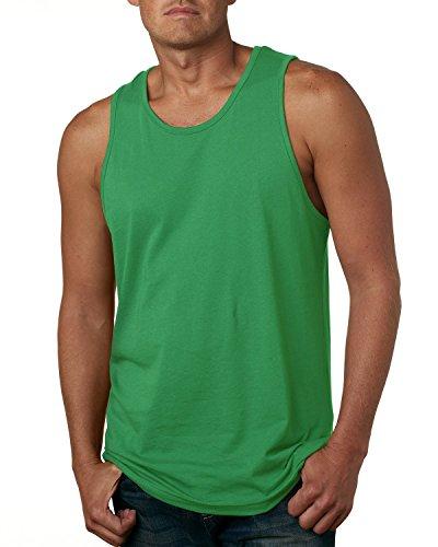 Men's Cotton Tank KELLY GREEN 2XL