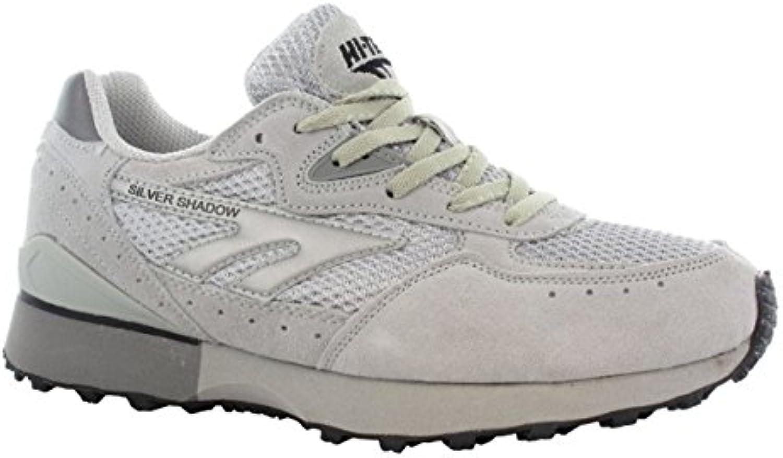 Hi Tec Silver Shadow Unisex Stiefel Athletics Running Trainer Außensohle aus Gummi Schuh