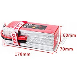GARTT® YPG 16000mAh 25C 22.2V 6S Grade A LiPo Battery Packs For RC Hobby Trex 500-600 Heli Romote Control Multicopter Octocopter DJI S800 S1000 Drone Airplane