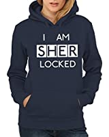 -- I am Sherlocked -- Girls Kapuzenpullover