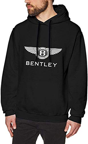 SHUNFAN Herren Kapuzenpullover, Hooded Sweat, Bentley Logo Hoodies Mens Long Sleeve Sweatshirts Men's Hoodies Popular Sweater