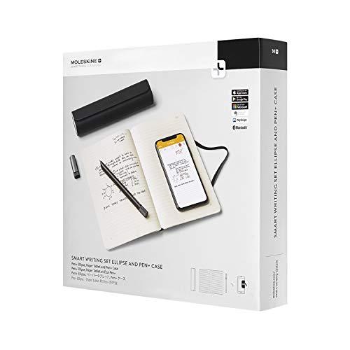 ing Set Ellipse +, Paper Tablet Notizbuch, Pen+ Etui, Smart Notizbuch Paper Tablet, Pen+ Ellipse Smartpen und Aufbewahrungstasche für Pen+, Linierte Seiten) schwarz ()