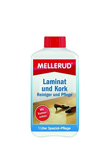 MELLERUD Laminat und Kork Reiniger mit Pflege 1,0 L, 2001010409 (Fleck Laminat)