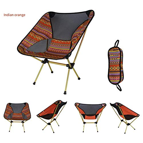 CAMPBROTHER Camp Stuhl Moon Chair Portable Garden 7075 Stuhl Angelsitz Camping Einstellbare oder Feste Höhe Klappmöbel
