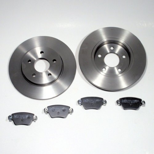 Bremsscheiben Ø 280 mm/Bremsen + Bremsbeläge für hinten