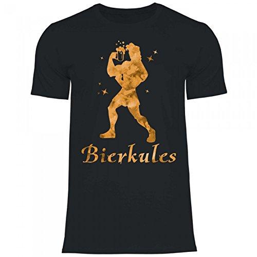 Royal Shirt a5 Herren T-Shirt Bierkules | Funshirt Biertrinker Bierlieber, Größe:XL, Farbe:Black