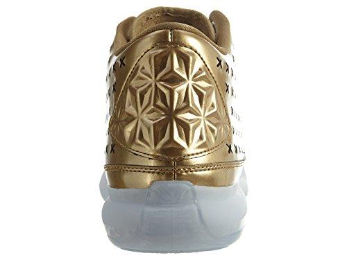 Nike Herren Kobe X Mid Ext Basketballschuhe Dorado / Blanco (Metallic Gold / Mtllc Gold-Blk)