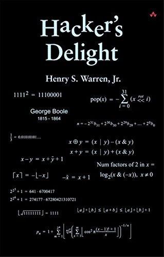 Hacker's Delight by Henry S. Warren (2002-07-17)