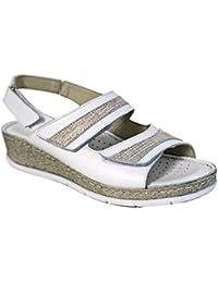 Uomo Sandali Sabot Sandali scarpe zoccoli rimovibile per tallone Cinghia marrone