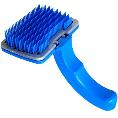 Perro gato cepillo plástico nuevo para quitar de pelo