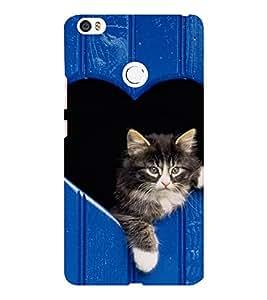 EPICCASE adorable kitty Mobile Back Case Cover For Xiaomi Mi Max (Designer Case)