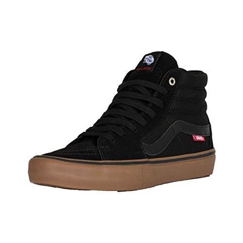 Vans Vans Sk8-Hi Pro Kids Black/Gum 5.5UK