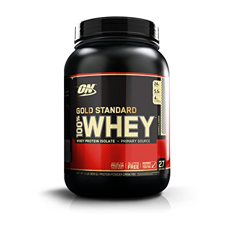 Optimum Nutrition Gold Standard 100% Whey Proteína en Polvo, Galletas y Crema...