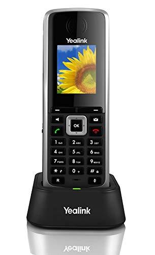 Yealink W52H - Teléfono inalámbrico IP desvío llamadas