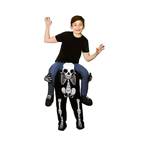 Disfraz a hombros Esqueleto Niño 8-10 años