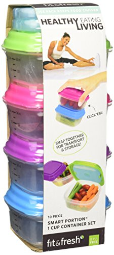 fit-fresh-healthy-living-1-cup-stak-pak-set-green
