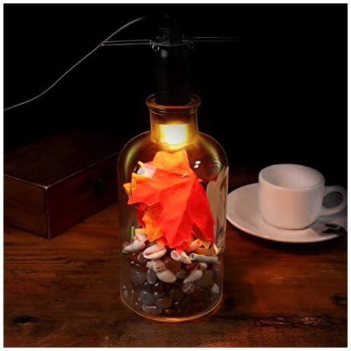 LEDMOMO E12 – Lampadina a filamento in tungsteno da 15 W, con dimmer, per lampada di sale con spina europea