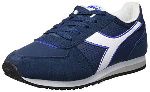 Diadora malone s gs, scarpe sportive unisex – bambini, multicolore (blu denim scuro 60033), 35.5 eu