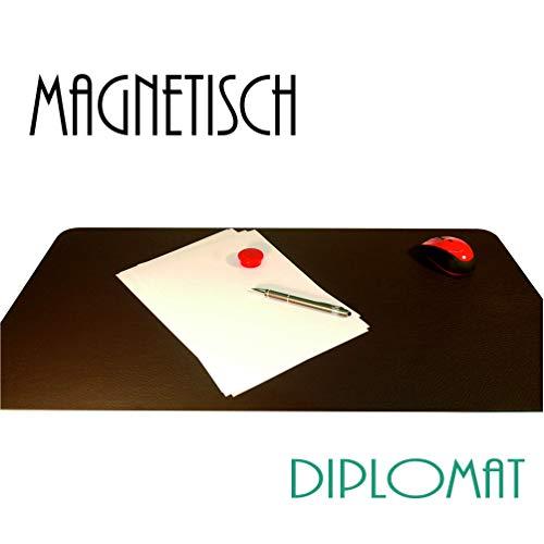 Schreibtischunterlage 77 x 45 cm, extra dünn 3 mm, handgefertigt in Deutschland, magnetisch, 3-lagige Konstruktion mit Metallkern -