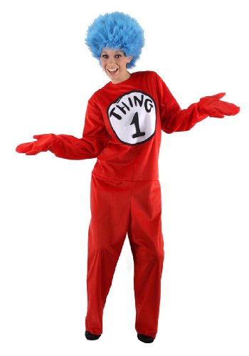 Elope Dr. Seuss Thing 1 & 2 Kostüm für Erwachsene