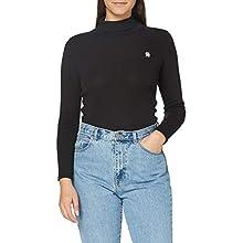 G-STAR RAW Women's Xinva Turtle Slim T-Shirt, Dk Black C515-6484, M
