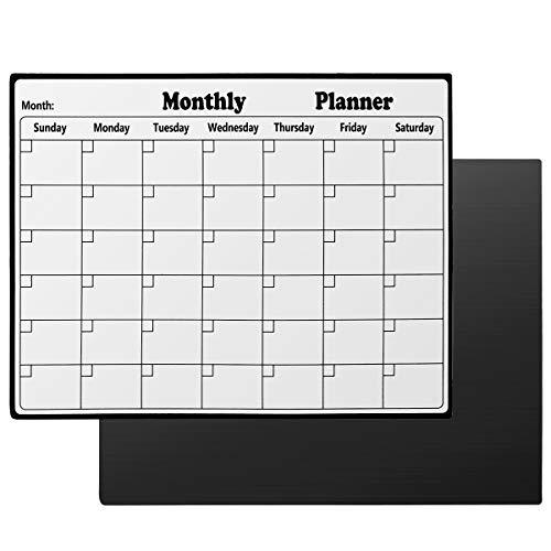 XingYue Direct Magnetic Dry Erase Kalender für Kühlschrank Whiteboard monatlichen Planer für Küche Kühlschrank löschbaren Kalender (Monatlichen Kalender Planer)