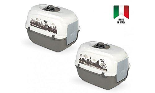 lettiera per gatti Nova London&paris con filtro prodotto in italia