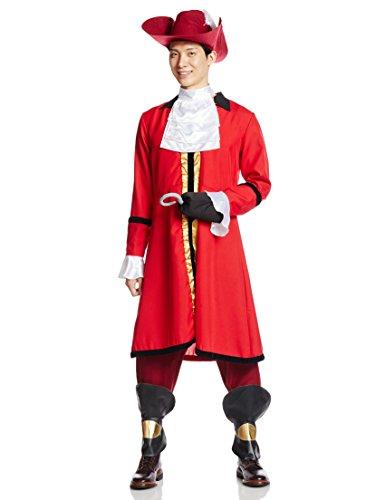 Disney Peter Pan Captain Hook Kostuem Herren 165cm-175cm 95617
