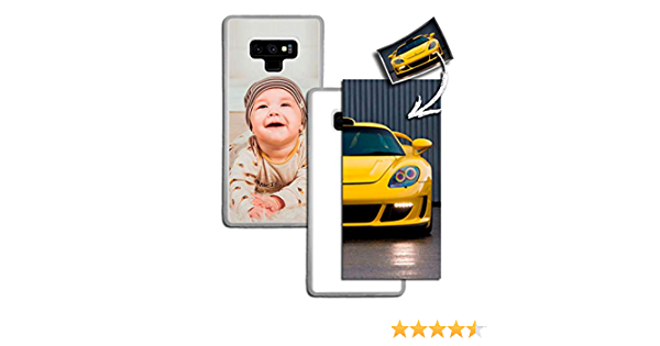 THEKLIPS® - Coque Galaxy Note 9 - Personnalisable: Amazon.fr: High ...