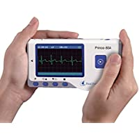 Heal Force portátil Monitor de ECG con Bluetooth, modelo PC-80A (FDA, CE, Mejor valorados) por Express Panda