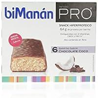 BIMANAN Pro caja 6 barritas chocolate y coco