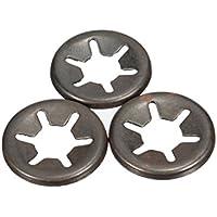 AUDEW Clips Fixations Rondelles de Verrouillage Vitesse Disponibles en 4 Tailles 6MM