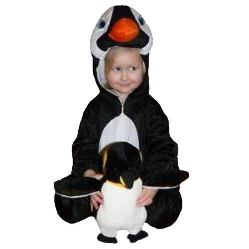 An46/00 Gr. 98-104 Pinguin Kostüm für Fasching und Karneval, Kostüme für Kinder, Faschingskostüm, Karnevalkostüm