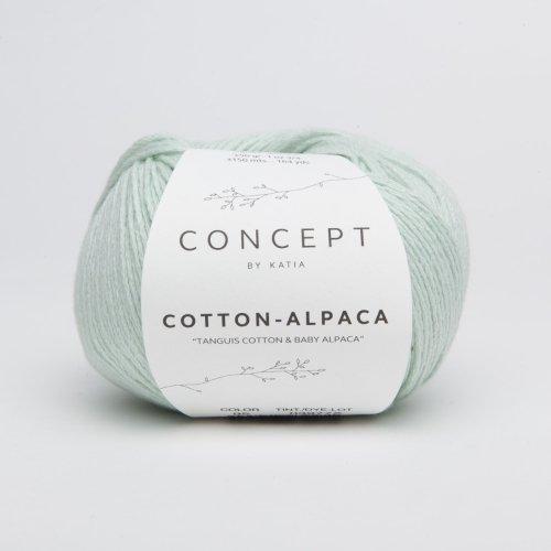 Katia Cotton-Alpaca - Concept - Farbe: Verde Agua (95) - 50 g / ca. 150 m Wolle