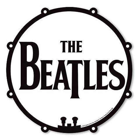 The Beatles noir et blanc souris d'ordinateur tapis de batterie / t drop logo 100% des produits officiels sous licence