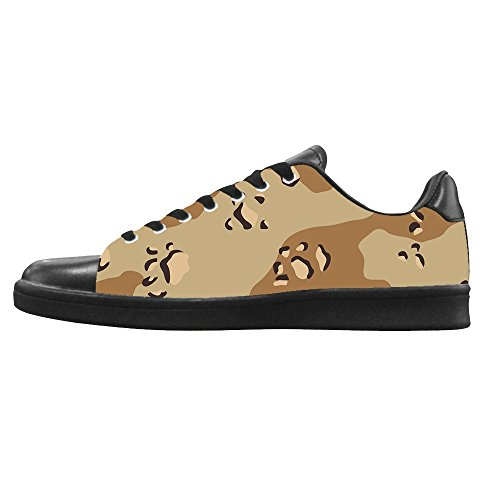 Dalliy camouflage Women's Canvas Shoes Lace-up High-top Footwear Sneakers Chaussures de toile Baskets A