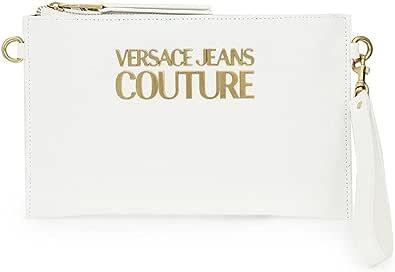 Versace Jeans Couture Clutch Maxi Logo E1VWABLX 71879 003 Weiß