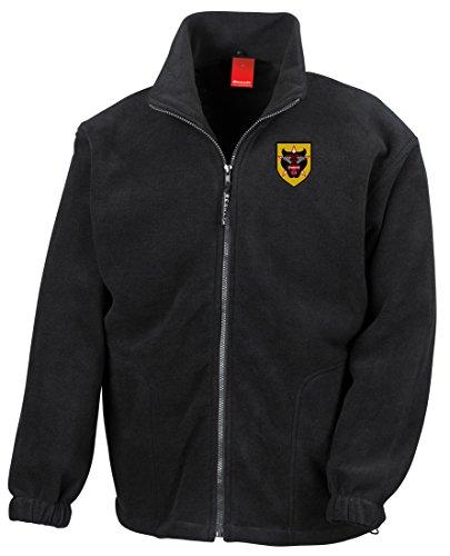 ers Embroidered Logo - Full Zip Fleece By Military online (Vietnam-veteran-fleece-jacke)