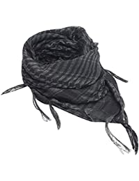 Bodhi2000® Unisex Military Shemagh Cotton Desert KeffIyeh Head Neck Scarf Wrap