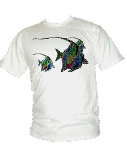 Blue Ray T-Shirts Herren T-Shirt Weiß