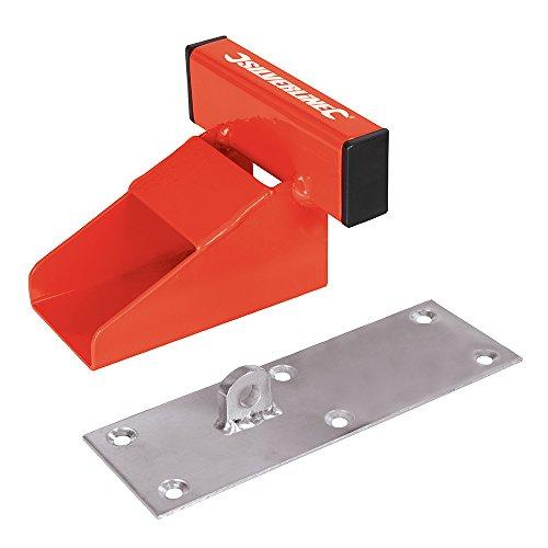 Silverline-538487-Sistema-de-Seguridad-para-Puertas-de-Garaje-Color-Rojo