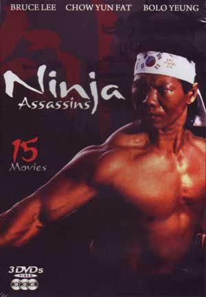 Ninja Assasins (3pc) / (3pk) [DVD] [Region 1] [NTSC] [US Import]