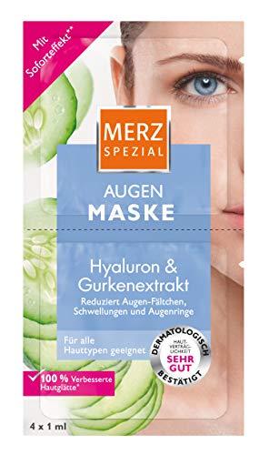 Merz Spezial  Augen Maske - Augenpflege mit Gurkenextrakt & Hyaluronsäure - Vermindert Fältchen und Augenringe - 1 x 4 ml