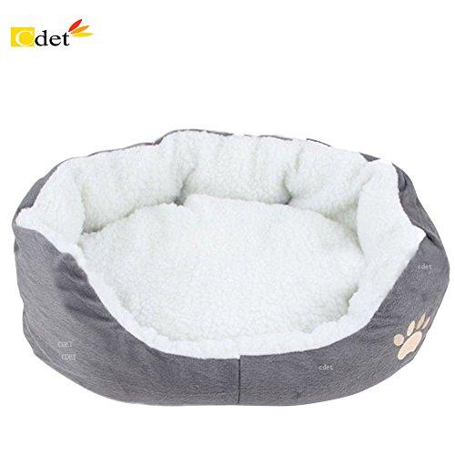 Cdet Rond ou ovale en forme de coussin matelas lit pour...