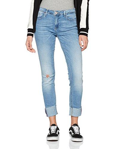 ONLY Damen Skinny Onlcarmen Reg SK an Jeans CRE169637 Noos, Blau (Light Blue Denim Light Blue Denim), Gr. W28/L30