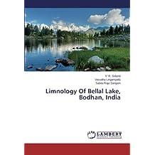 Limnology Of Bellal Lake, Bodhan, India