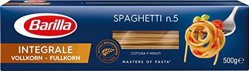 Barilla Vollkorn Nudeln Spaghetti n. 5 Integrale - 10er Pack (10x500g)