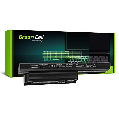 Green Cell Standard Serie VGP-BPS26A/VGP-BPS26/VGP-BPL26 Akku für Sony Vaio PCG-61 PCG-61713M PCG-61714M PCG-91 PCG-91211M Laptop (6 Zellen 4400mAh 11.1V Schwarz)