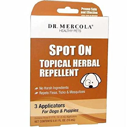 Dr Mercola Natural Flea & Tick Defence for Dogs & Cats (236ml) 1