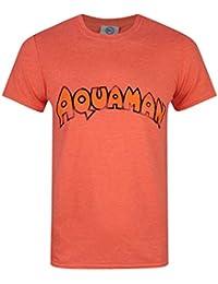 Official Hombres Aquaman - Camiseta